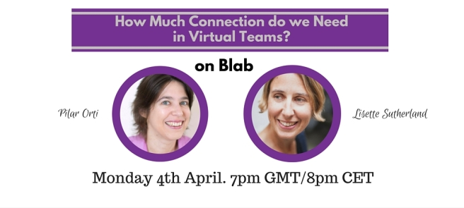 Virtual Team Talk 4 April 2016